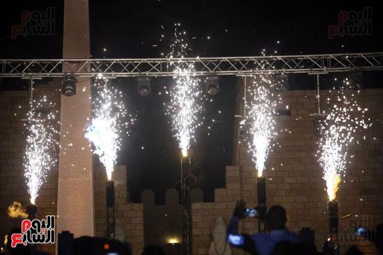 شقيقة رونالدو تشعل حفل افتتاح الباتروس أكوا بارك فى شرم الشيخ (13)