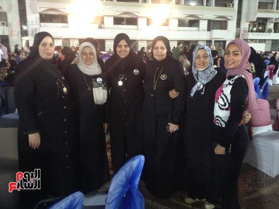 تكريم أهالى الشهداء بنادى الزمالك بحضور أعضاء بمجلس النواب (29)