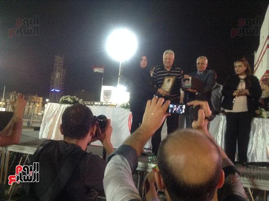 تكريم أهالى الشهداء بنادى الزمالك بحضور أعضاء بمجلس النواب (24)
