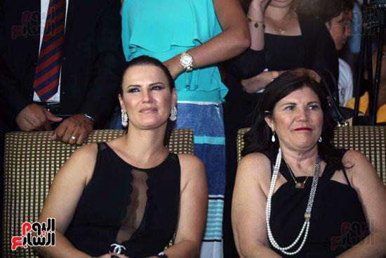 شقيقة رونالدو تشعل حفل افتتاح الباتروس أكوا بارك فى شرم الشيخ (1)