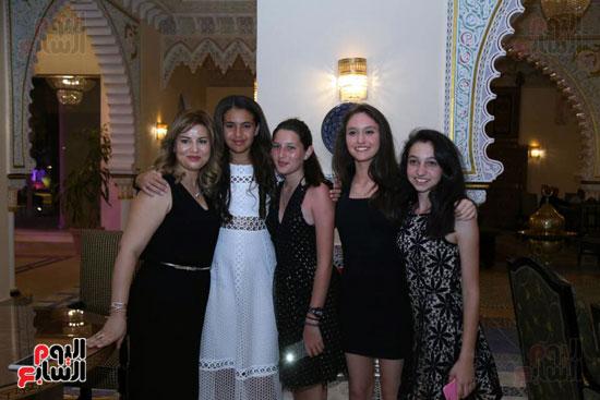شقيقة رونالدو تشعل حفل افتتاح الباتروس أكوا بارك فى شرم الشيخ (23)