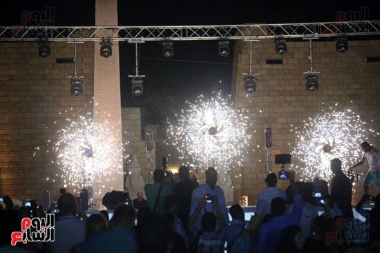 شقيقة رونالدو تشعل حفل افتتاح الباتروس أكوا بارك فى شرم الشيخ (15)