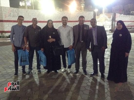 تكريم أهالى الشهداء بنادى الزمالك بحضور أعضاء بمجلس النواب (36)