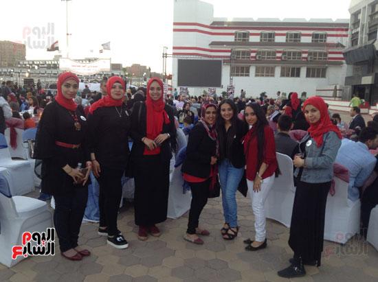 تكريم أهالى الشهداء بنادى الزمالك بحضور أعضاء بمجلس النواب (13)