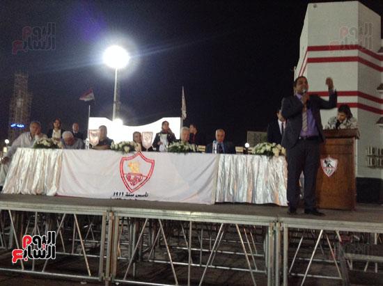 تكريم أهالى الشهداء بنادى الزمالك بحضور أعضاء بمجلس النواب (19)