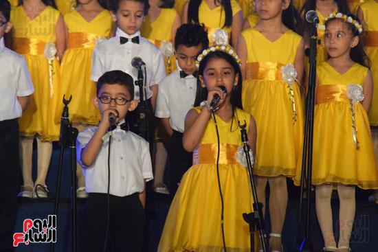 أطفال مدرسة دار الطفل يتألقون بحفلهم السنوى بجامعة MSA (52)