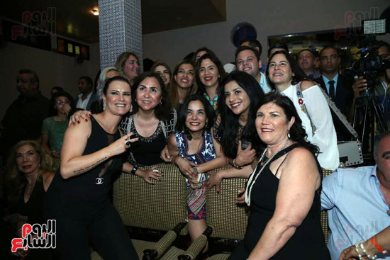شقيقة رونالدو تشعل حفل افتتاح الباتروس أكوا بارك فى شرم الشيخ (16)