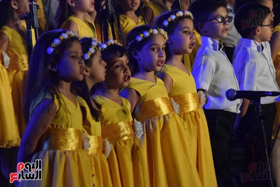 أطفال مدرسة دار الطفل يتألقون بحفلهم السنوى بجامعة MSA (54)
