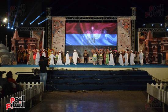 أطفال مدرسة دار الطفل يتألقون بحفلهم السنوى بجامعة MSA (73)