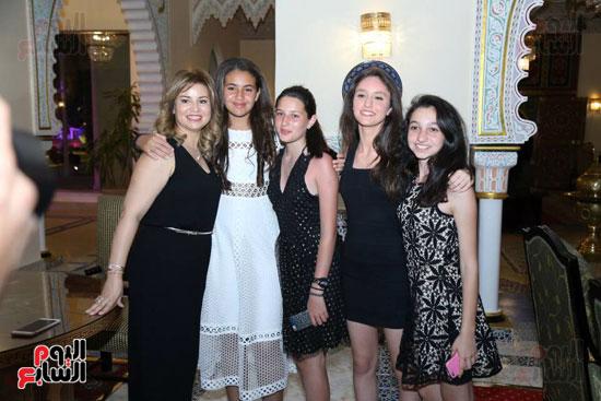 شقيقة رونالدو تشعل حفل افتتاح الباتروس أكوا بارك فى شرم الشيخ (18)