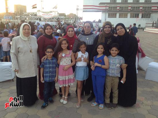 تكريم أهالى الشهداء بنادى الزمالك بحضور أعضاء بمجلس النواب (9)
