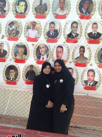 تكريم أهالى الشهداء بنادى الزمالك بحضور أعضاء بمجلس النواب (4)