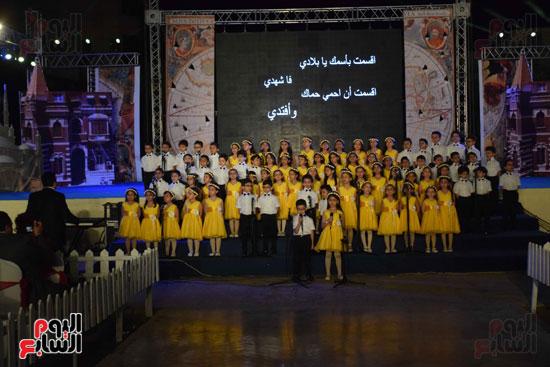 أطفال مدرسة دار الطفل يتألقون بحفلهم السنوى بجامعة MSA (53)