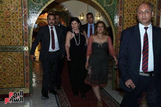 شقيقة رونالدو تشعل حفل افتتاح الباتروس أكوا بارك فى شرم الشيخ (22)
