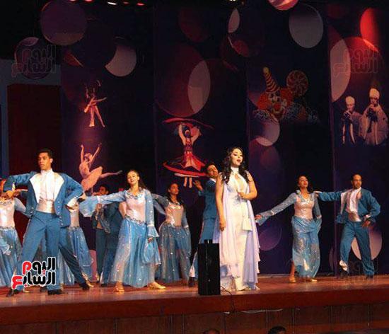 شقيقة رونالدو تشعل حفل افتتاح الباتروس أكوا بارك فى شرم الشيخ (17)