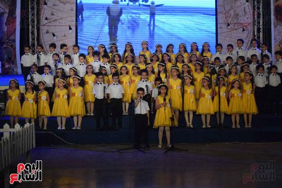 أطفال مدرسة دار الطفل يتألقون بحفلهم السنوى بجامعة MSA (51)