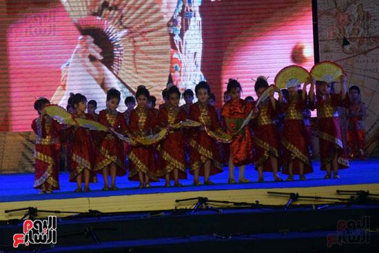 أطفال مدرسة دار الطفل يتألقون بحفلهم السنوى بجامعة MSA (48)