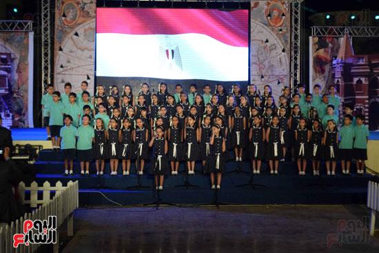 أطفال مدرسة دار الطفل يتألقون بحفلهم السنوى بجامعة MSA (20)