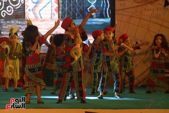 أطفال مدرسة دار الطفل يتألقون بحفلهم السنوى بجامعة MSA (41)