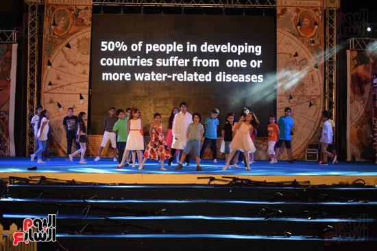 أطفال مدرسة دار الطفل يتألقون بحفلهم السنوى بجامعة MSA (17)