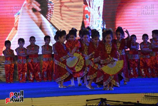 أطفال مدرسة دار الطفل يتألقون بحفلهم السنوى بجامعة MSA (46)
