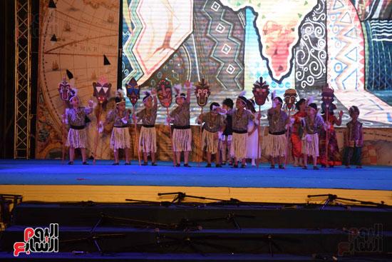 أطفال مدرسة دار الطفل يتألقون بحفلهم السنوى بجامعة MSA (40)