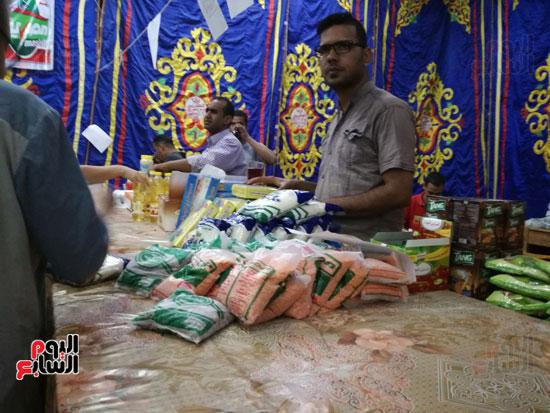 3--منافذ-توزيع-السلع-للأهالي-بمعرض-اهلا-رمضان-الاقصر