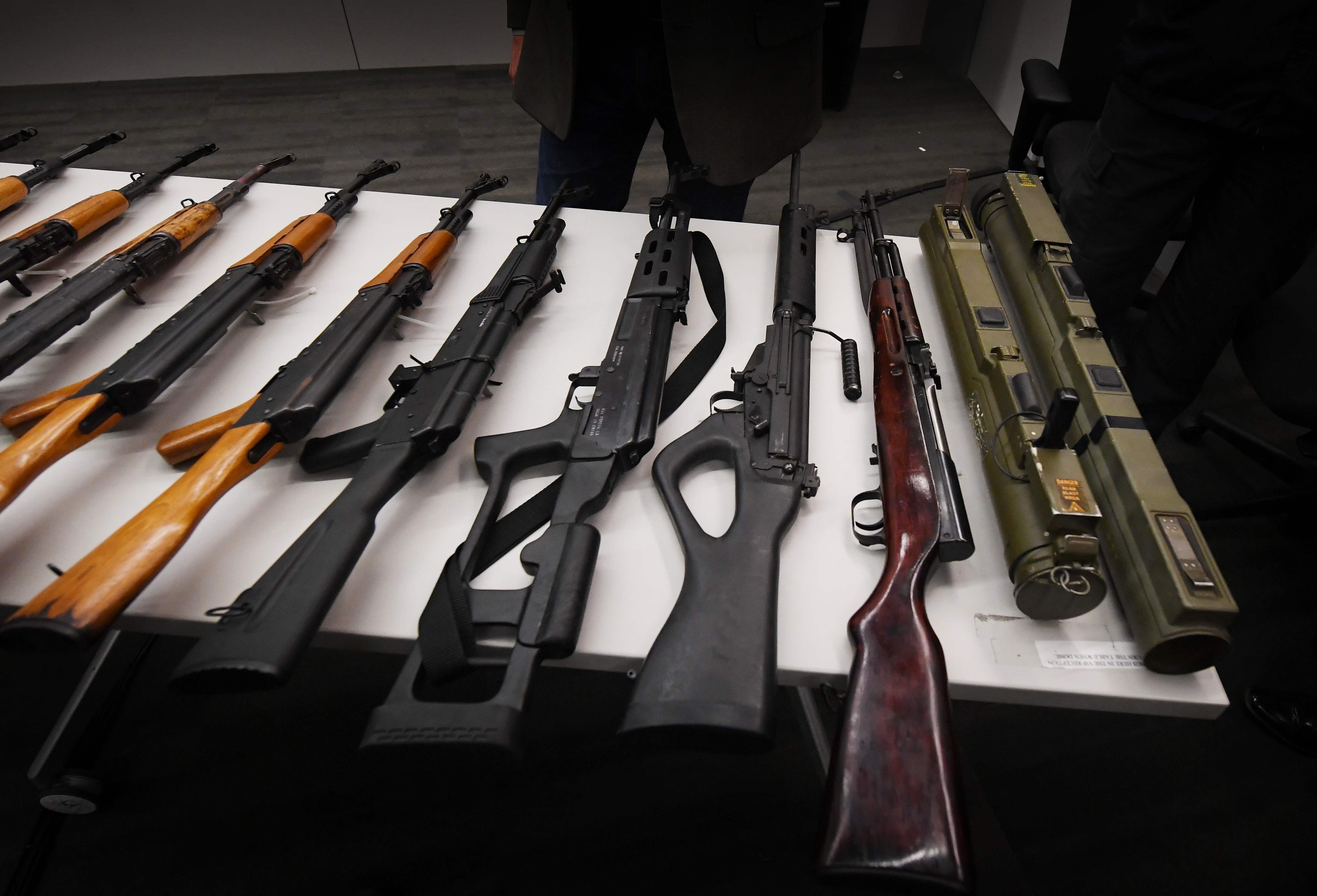 أسلحة فى لوس أنجلوس