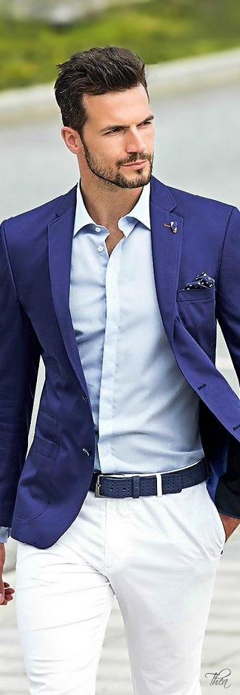 8f496880e قاموس الموضة الرجالى..بالصور..إزاى تلبس البليزر الكحلى بـ 5 طرق ...