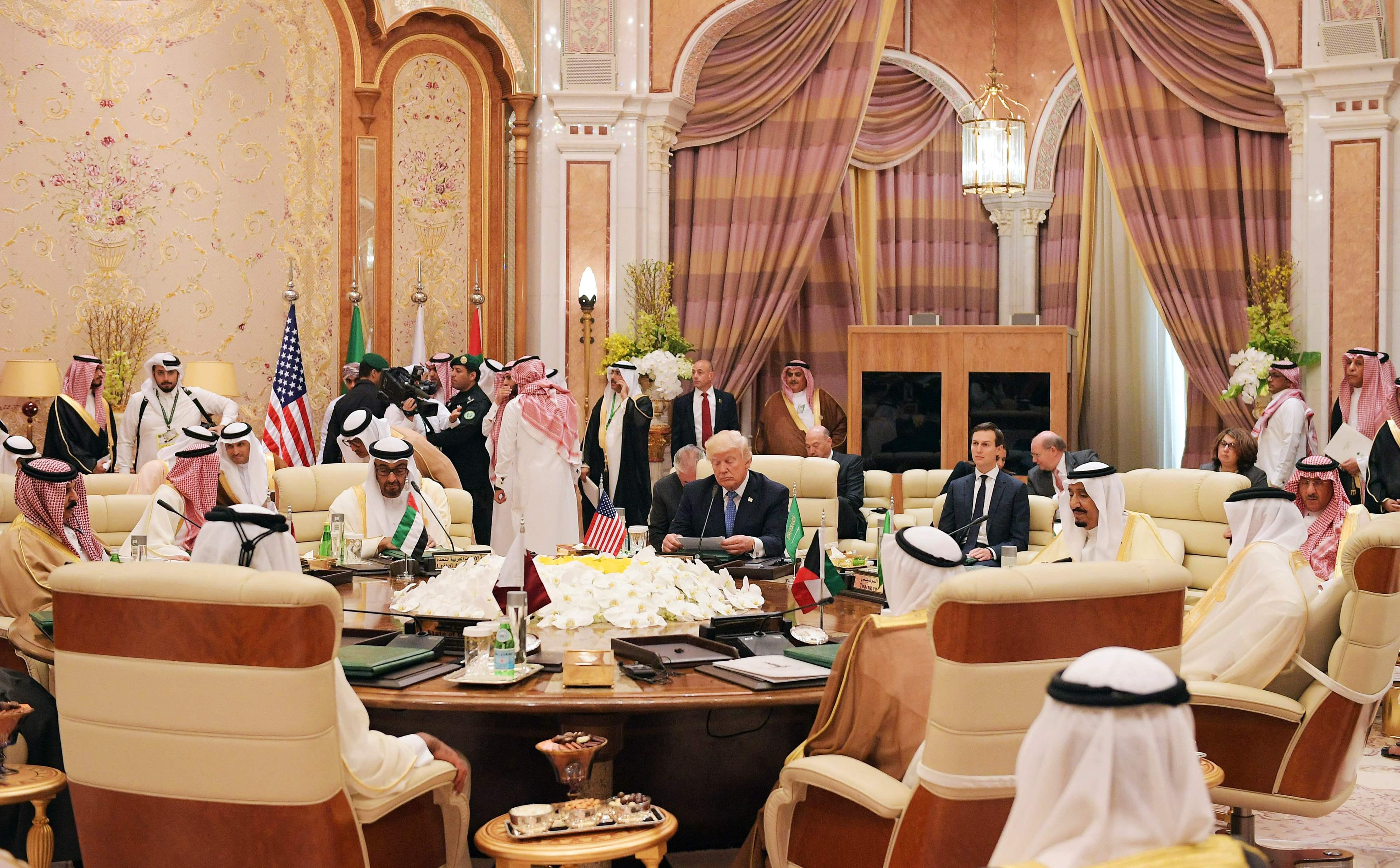 القمة الخليجية الأمريكية