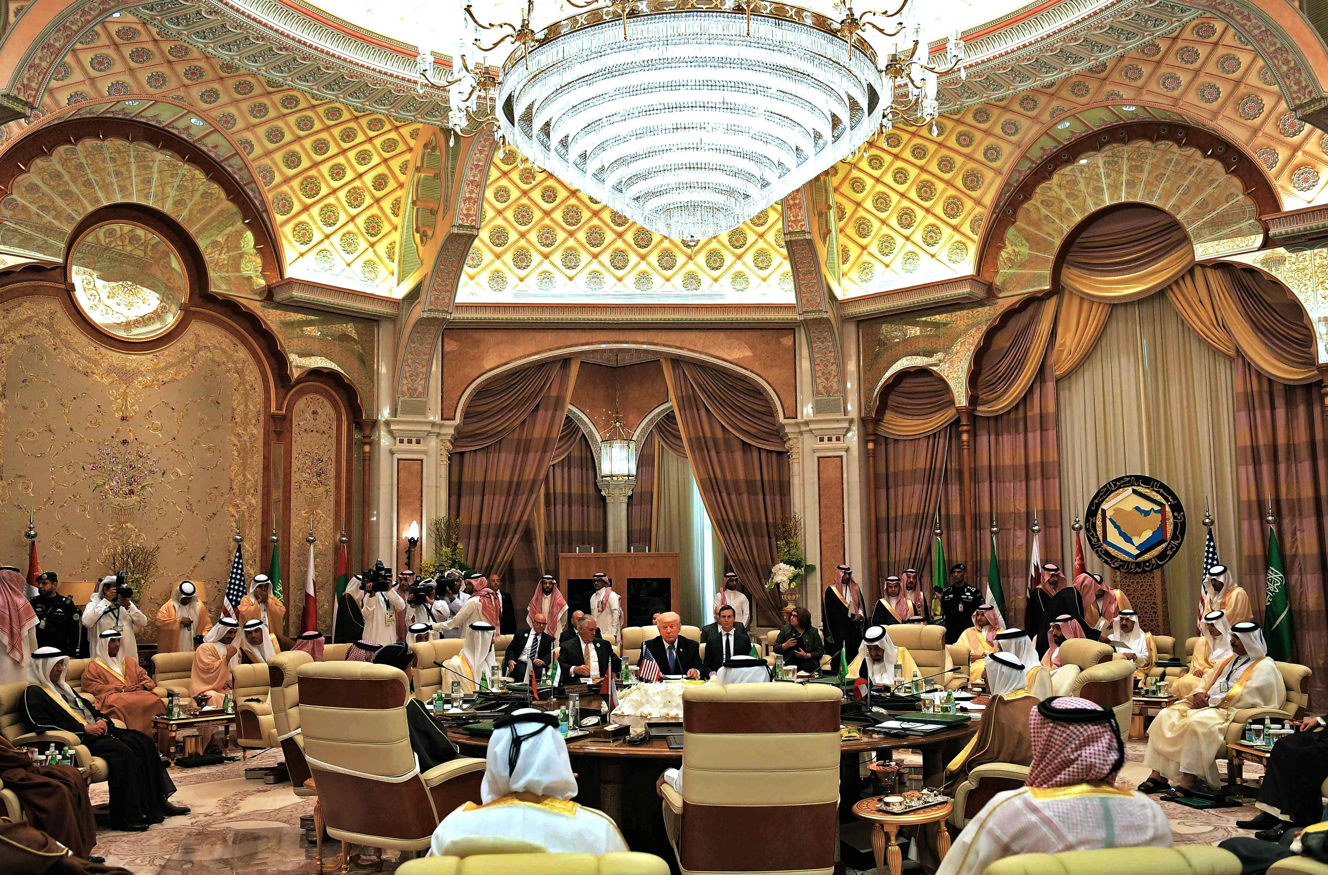 انطلاق أعمال القمة الخليجة الأمريكية