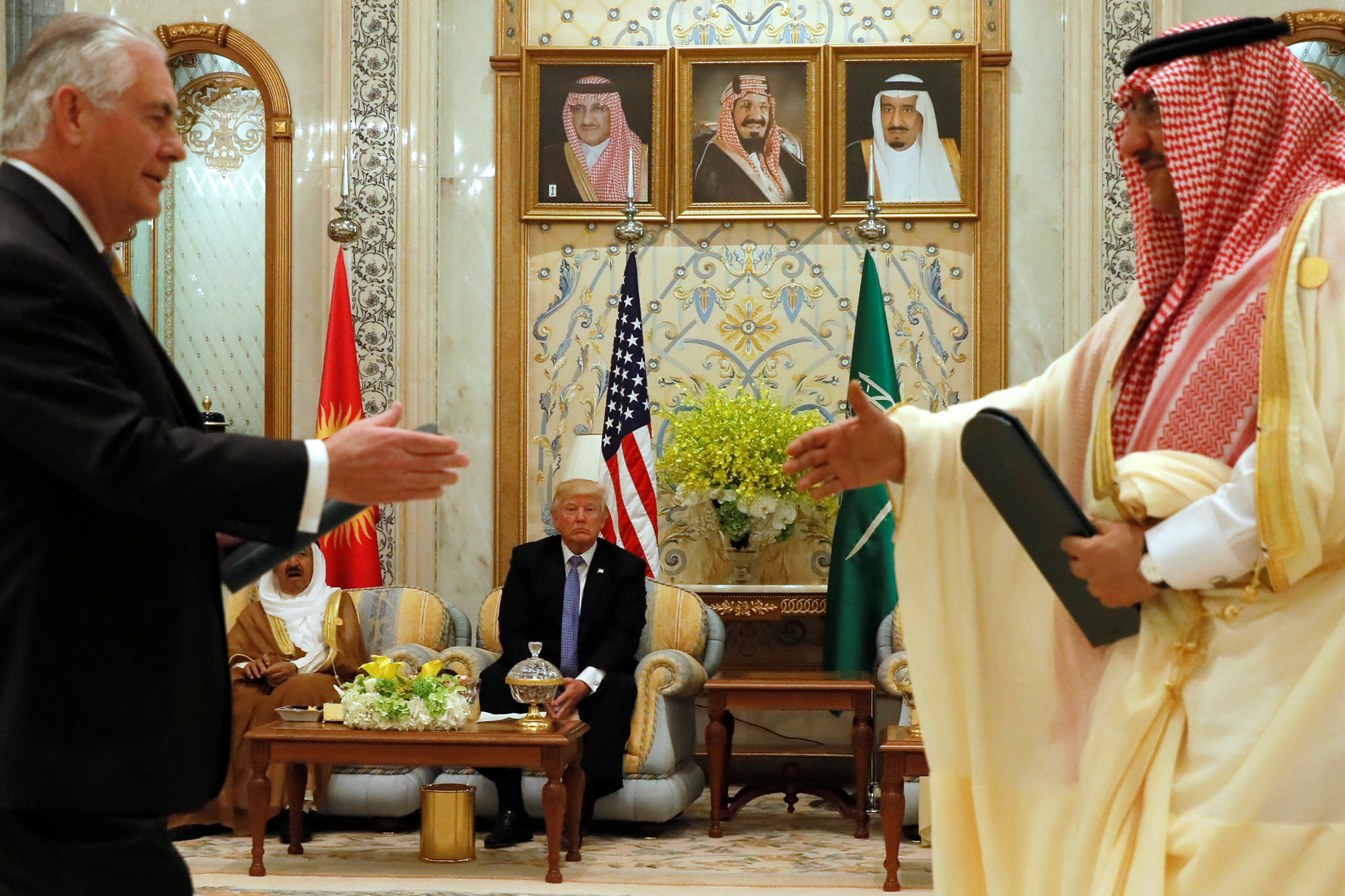 مجلس التعاون الخليجى والولايات المتحدة الأمريكية يوقعان مذكرة تفاهم بشأن تجفيف منابع الإرهاب