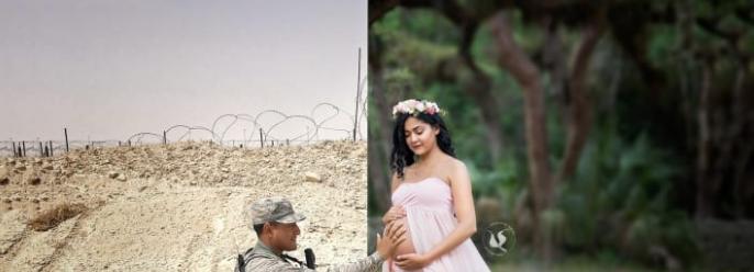 ألبوم صور لزوجة أمريكية حامل  (4)