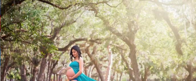 ألبوم صور لزوجة أمريكية حامل  (3)