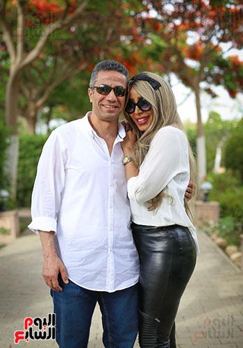 العميد محمد سمير و زوجته (13)