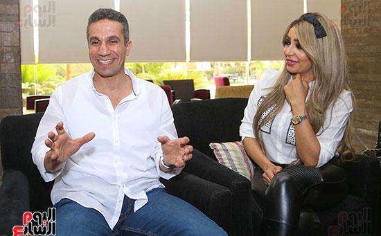 العميد محمد سمير و زوجته (9)