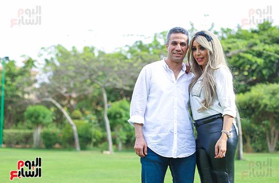 العميد محمد سمير و زوجته (16)