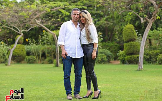 العميد محمد سمير و زوجته (15)