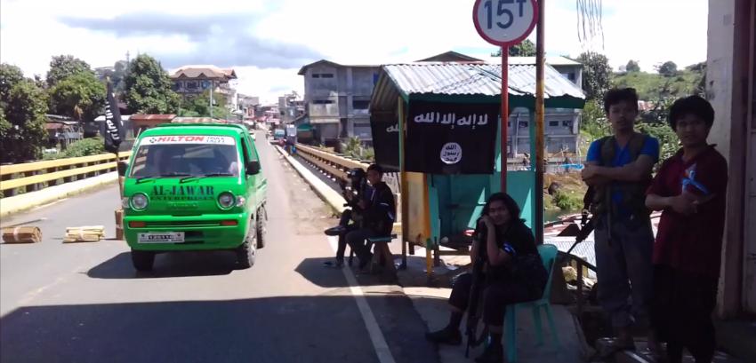 مسلحو داعش في الفلبين
