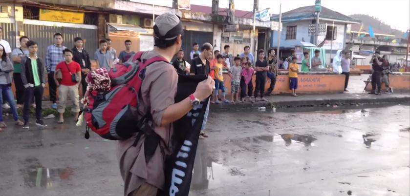 عناصر داعش في مدينة ماواي الفلبينية