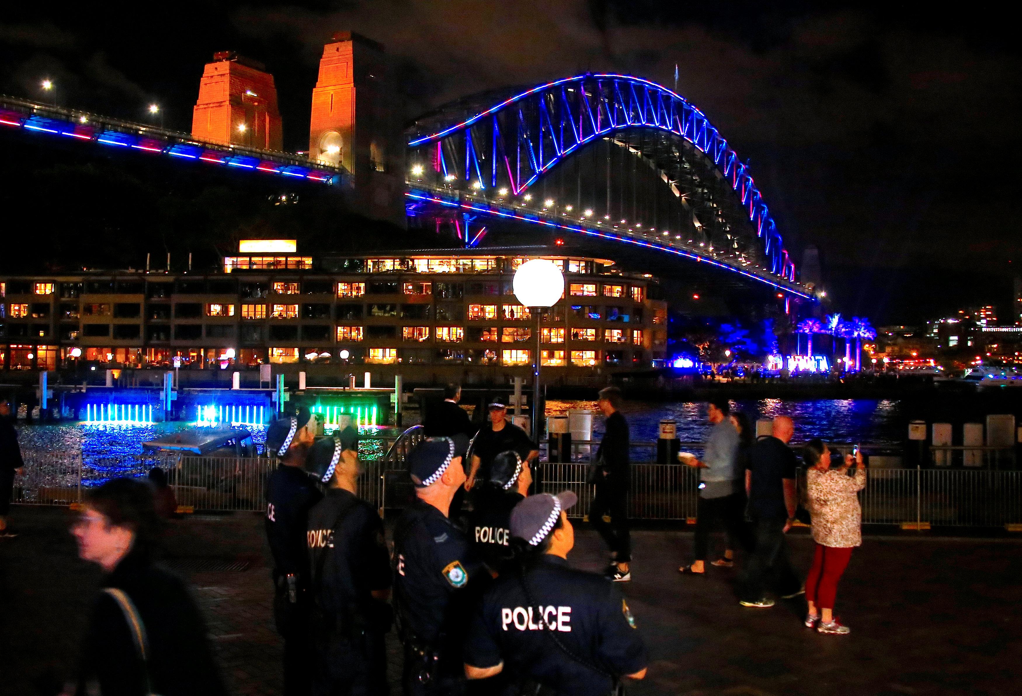 الشرطة الأسترالية تؤمن المحتفلون بمهرجان سيدنى