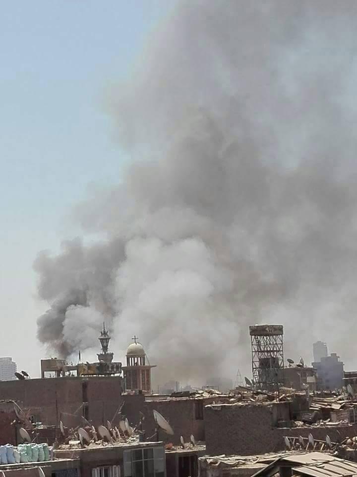 حريق هائل - فى سوق ملابس فى حى إمبابة بالجيزة 46684-2222