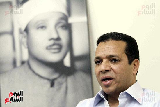 اللواء المقرئ طارق عبد الباسط عبد الصمد