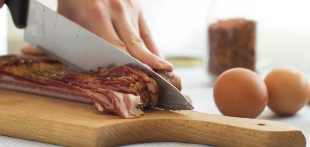 خشبة تقطيع اللحوم