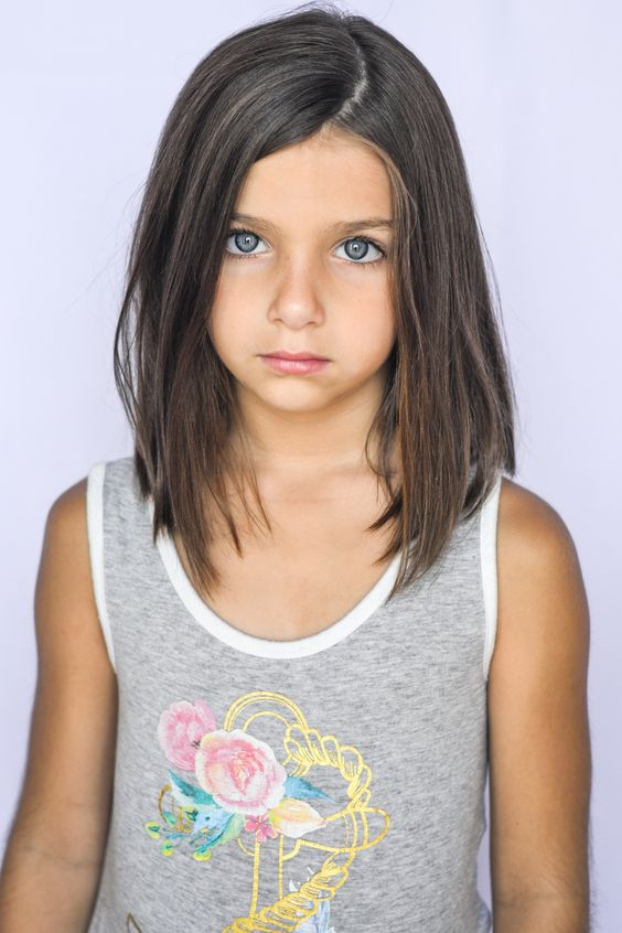 قصات شعر للاطفال بنات قصير جدا