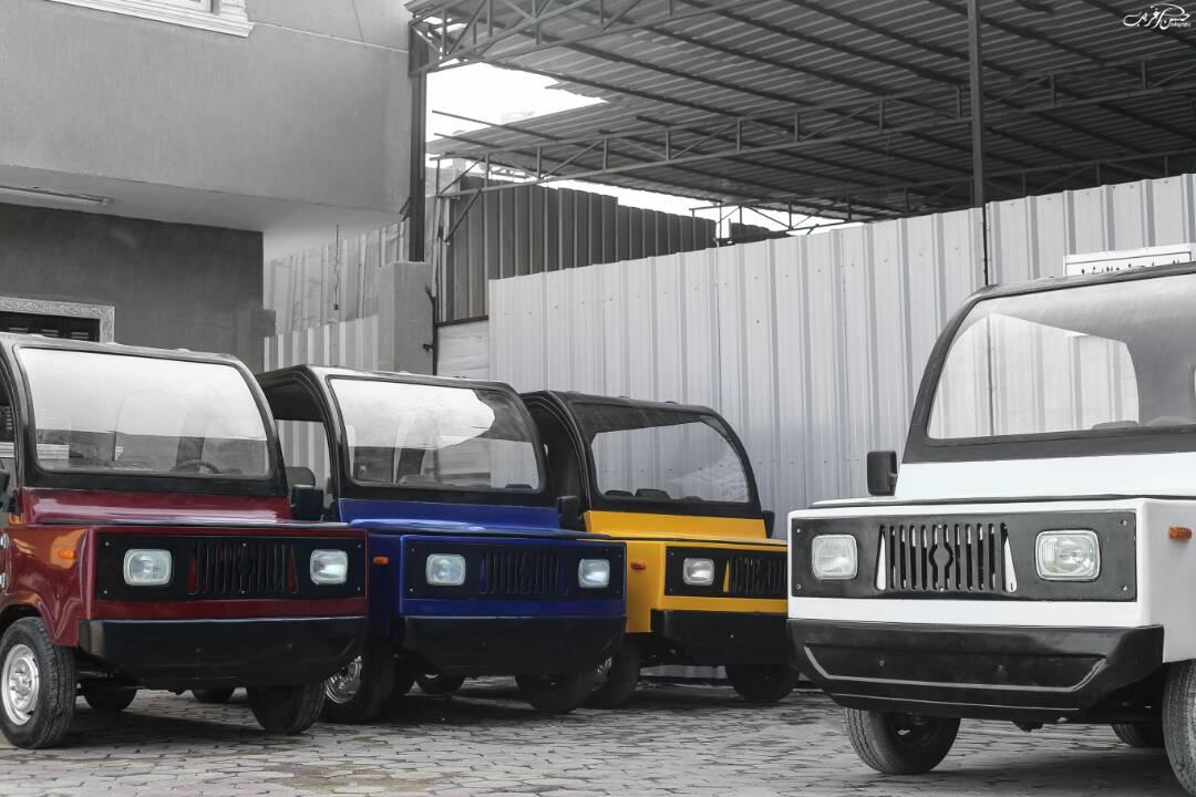 مجموعة من السيارات