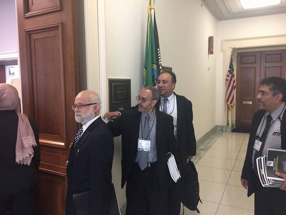 عناصر جماعة الإخوان الإرهابية فى الكونجرس