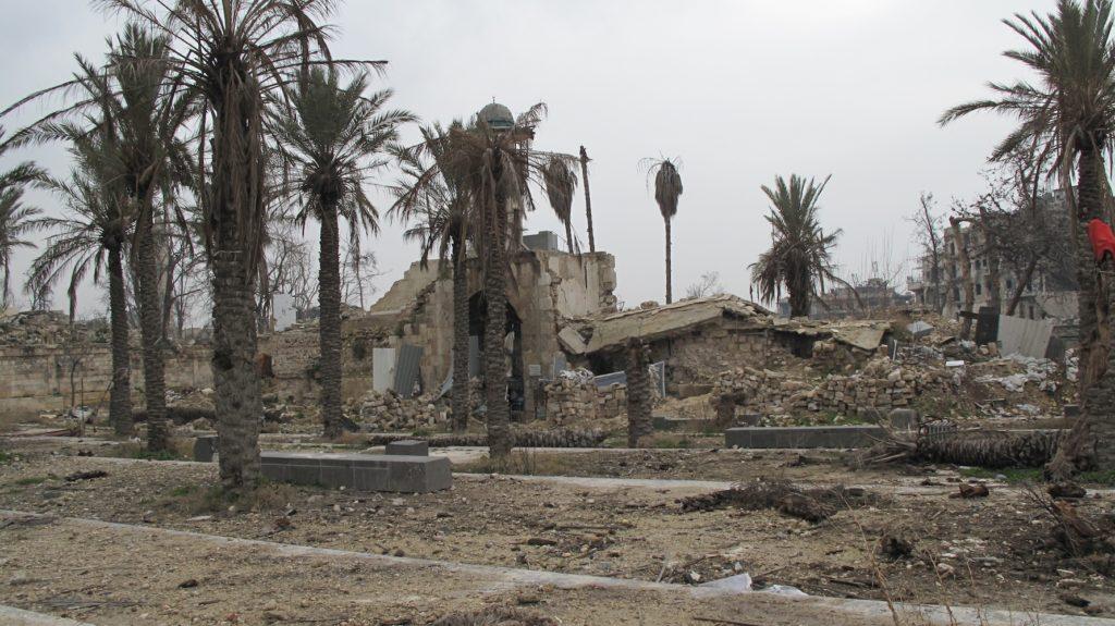 المواقع التراثية التى دمرت فى سوريا والعراق  (1)