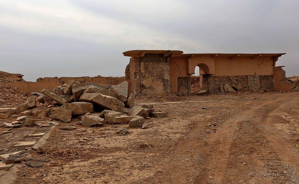 المواقع التراثية التى دمرت فى سوريا والعراق  (2)