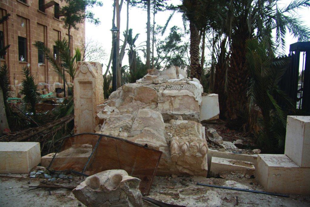 المواقع التراثية التى دمرت فى سوريا والعراق  (4)